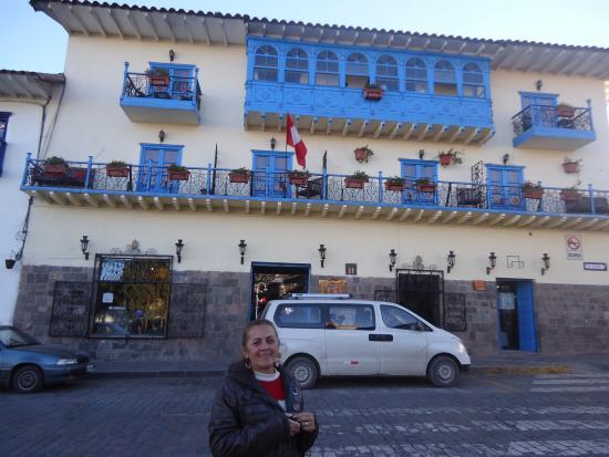 Royal Inka I: fachada do Hotel