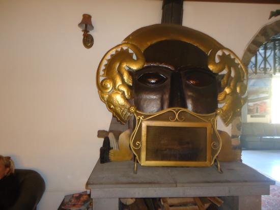 Royal Inka I: lareira do hotel
