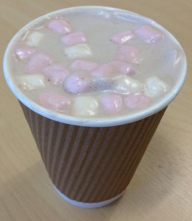 The Tea House: Best hot chocolate - ever!