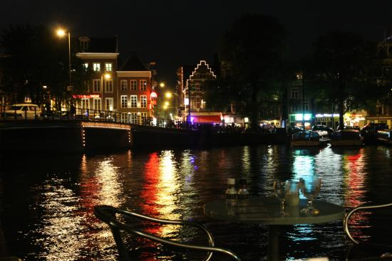 Prince Henry, Private Suites and Gardens: Amsterdam by night