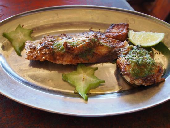 Chez Batista Villas Rustic Restaurant : Red Snapper fillet