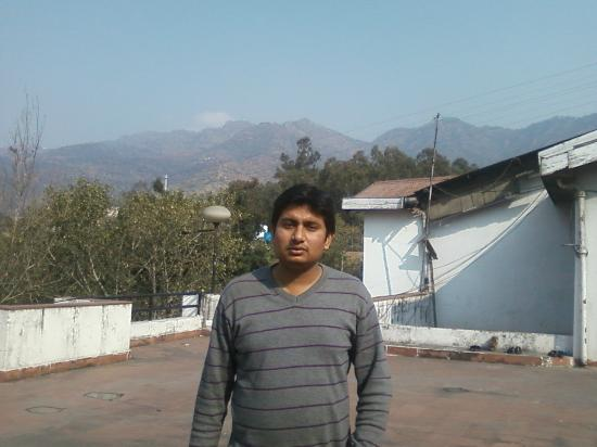 Hotel Shivalik: Terrace