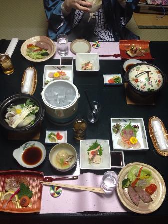 Yamamotoya : Dinner at the hotel room