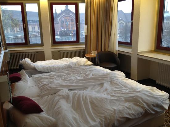 Advena Hotel Hohenzollern: Unser Zimmer.