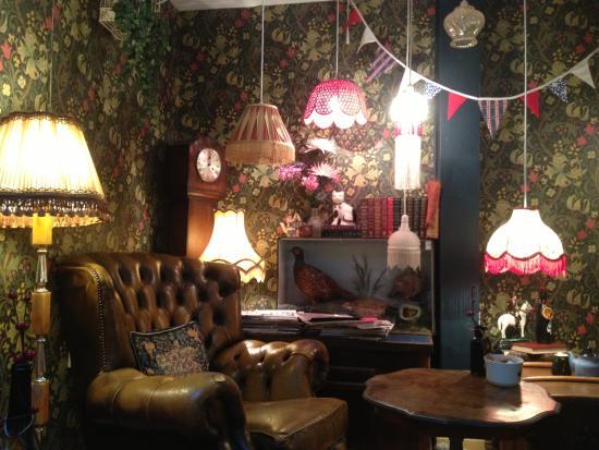 Bakewell Tart And Cherry Bakewell Tea Picture Of Biddy S Tea Room Norwich Tripadvisor