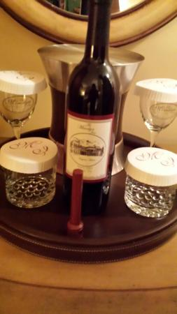The Mimslyn Inn: Great price in the wine.