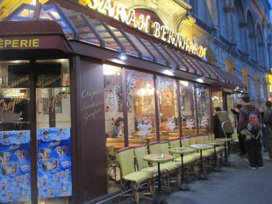 Cafe Restaurant Le Sarah Bernhardt: 外観