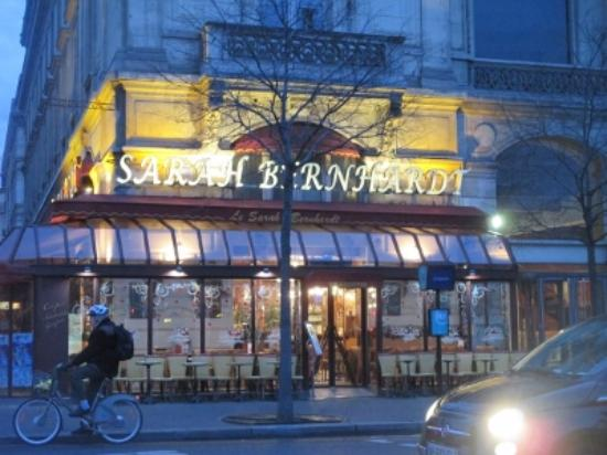 Cafe Restaurant Le Sarah Bernhardt: cafe サラ・ベルナール