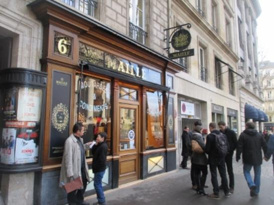 Boutique Maille: 外観