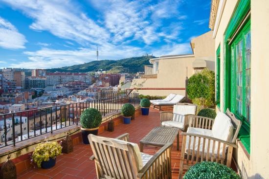 Terraza picture of casa con estilo balmes barcelona - Casa con estilo barcelona ...