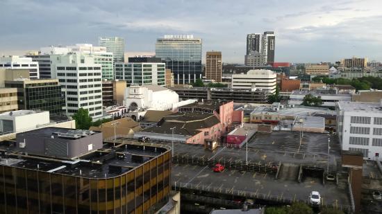 PARKROYAL Parramatta: A view from the 12th floor over Parramatta