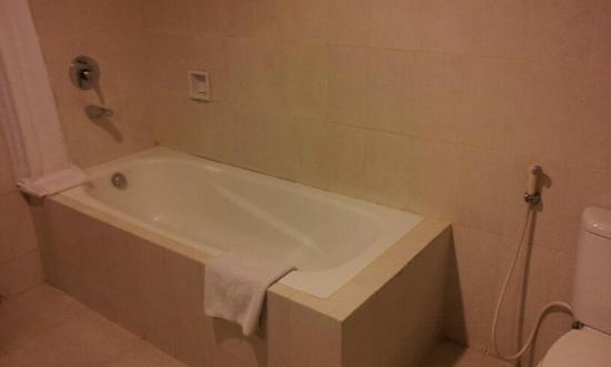 Horison Ultima Makassar Hotel: bath tub