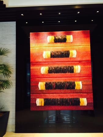 Royal Park Hotel The Fukuoka: The front foyer display