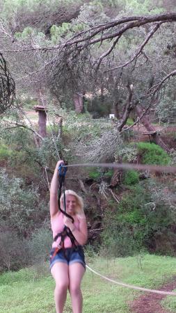 Luso Aventura Albufeira: Me ziplining