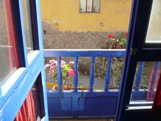 Flying Dog Hostel Cusco: Balcon