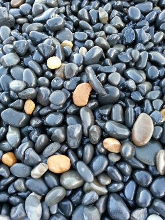 Emporios Beach : Stones are fantastic.