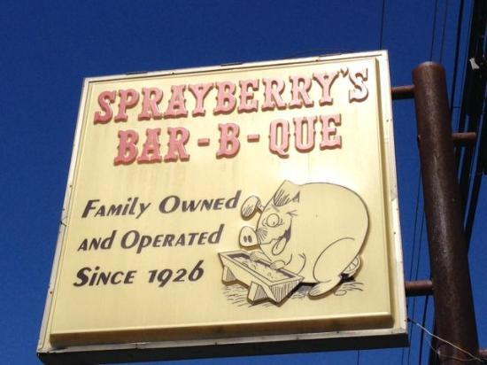 Sprayberry's Barbecue: Sprayberrry's