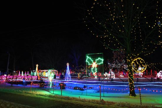 Rotary Lights Wildwood Zoo - Picture of Wildwood Zoo, Marshfield ...