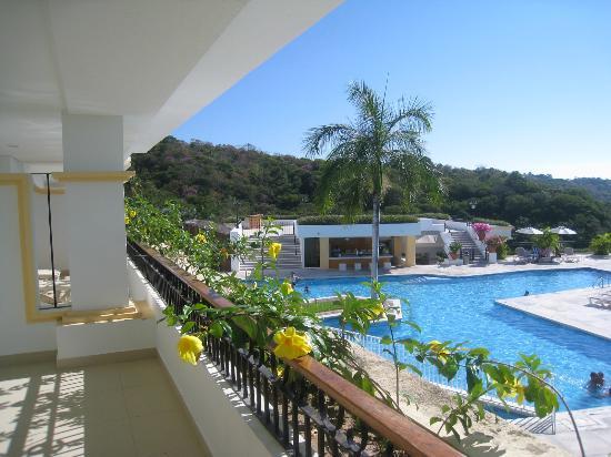 Park Royal Huatulco: Parte del balcón