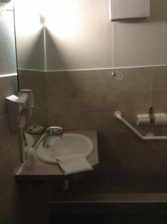 Als Hotel : salle de bain
