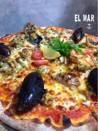 la rustica sayulita pizza el mar