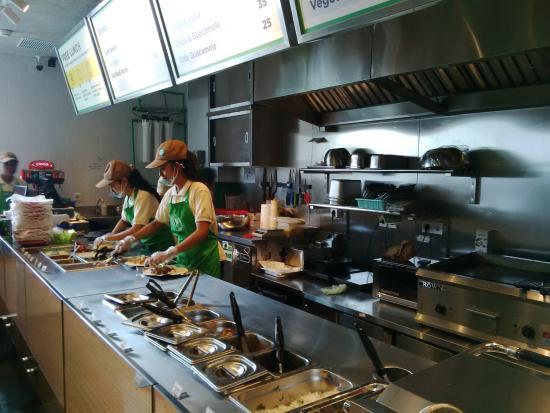 Restaurant Kitchen Grill kitchen @ poblano - picture of poblano mexican grill, jakarta