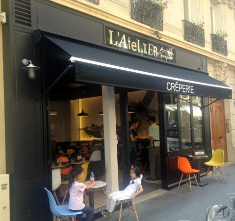 Creperie l 39 atelier champs elysees paris champs for Atelier cuisine paris