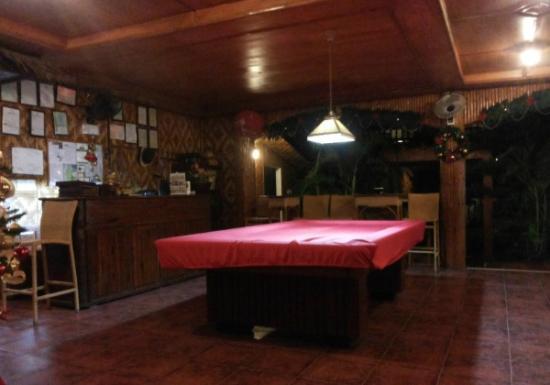 CouCou Bar & Restaurant: Billard table
