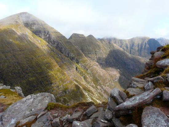 Achnasheen, UK : Beinn Alligin summit view
