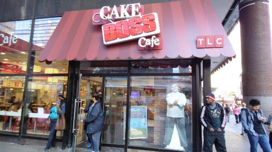 Cake Boss Cafe New York Ny