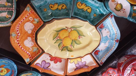 Ceramiche di Vietri: cene fredde