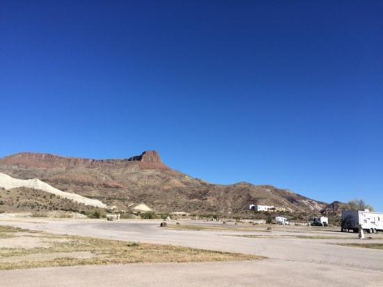 Maverick Ranch RV Park: View from RV campground toward NW Mesa