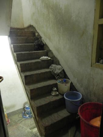 Palace on Ganges: en sortant de notre chambre !!!