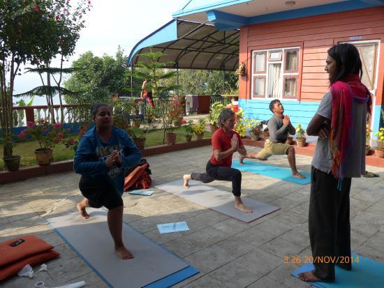 Sadhana Yoga Retreat Centre Outdoor Studio