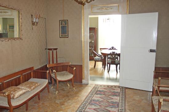 B&B Palazzo Bernardini : наша гостинная