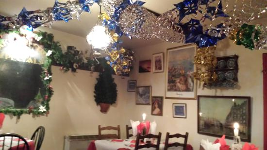 Jakes Bistro: The Xmasdecorations
