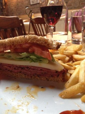 CK14 - The Crooked Knife at 14th Street : Amazing pastrami and swish sandwich!!