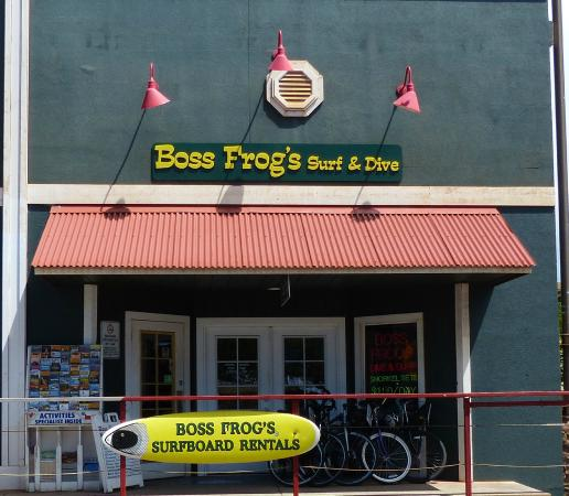 ‪Boss Frog's Dive, Surf and Bike‬