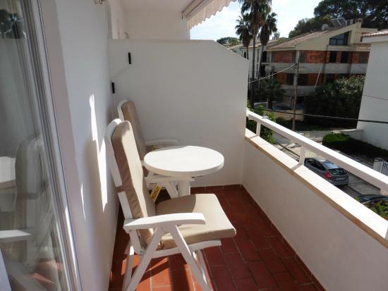 Hotel Villa Singala: balcony