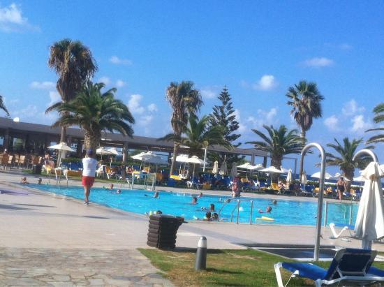 Lyttos Beach Hotel: Watergym lesson !