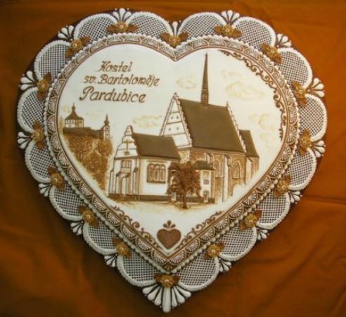 Pardubice Region, Republik Ceko: Pernikové srdce z Pardubic