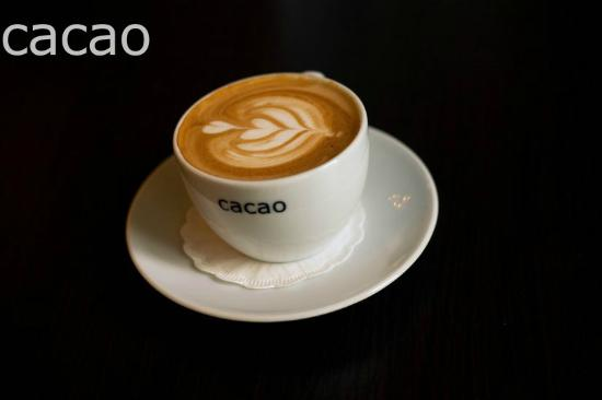 cappuccino at cacao