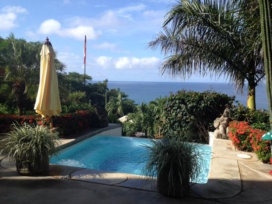 Playa Yankee, Nicaragua: A view from the upper pool