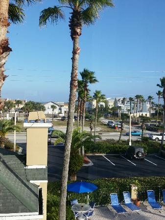 Hilton Garden Inn St. Augustine Beach: Our view from our room on the 3rd floor