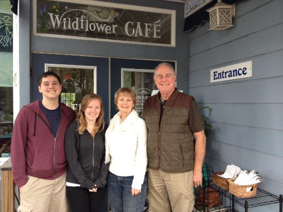 Wildflower Cafe : We were there