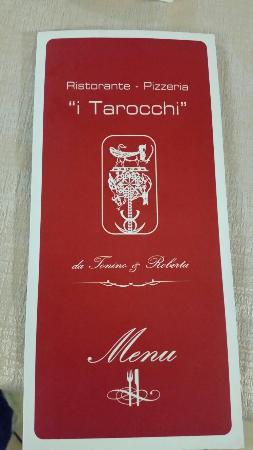 I Tarocchi: Menù