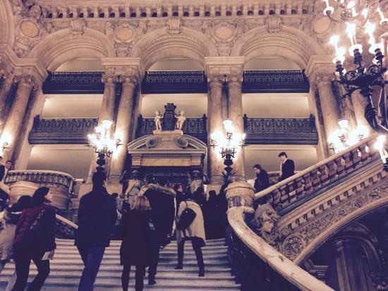 Escalier de marbre - Picture of Palais Garnier - Opera National de ...