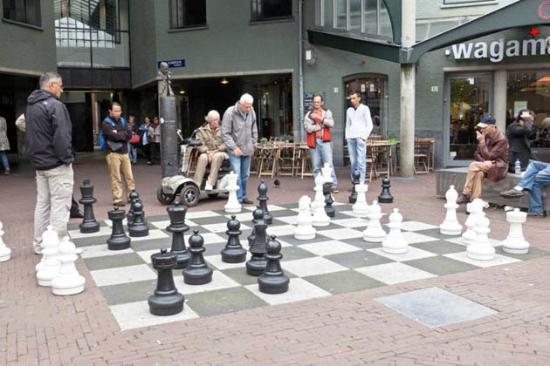 Max Euwe Centrum : Street Chess