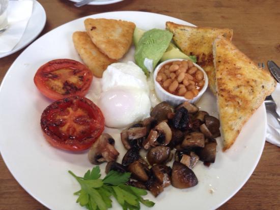 Easy Cafe: Vegetarian breakfast