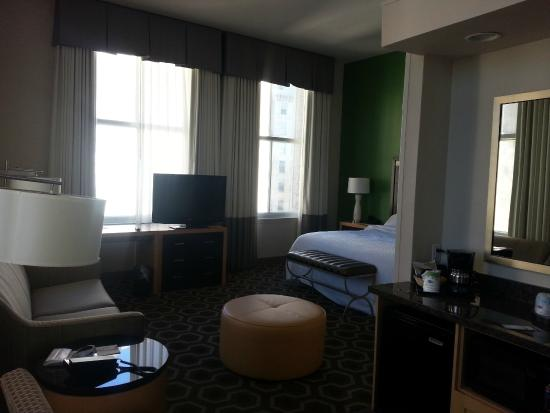 Hampton Inn & Suites New Orleans Downtown (French Quarter Area): Photo of room 1105
